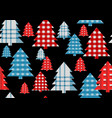 christmas texture background vector image vector image