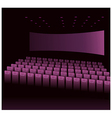 Cinema Interior vector image