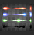 futuristic energy weapon firing effect vector image