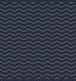 geometric seamless horizontal zigzag vector image