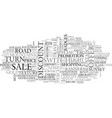 off word cloud concept vector image vector image