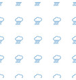rain icon pattern seamless white background vector image vector image