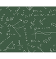 Seamless math background vector image vector image