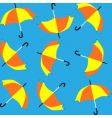 umbrellas pattern vector image
