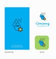 water control company logo app icon and splash vector image