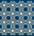 abstract lacy seamless pattern vector image vector image