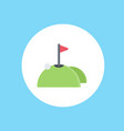 golf icon sign symbol vector image