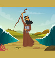 historical of biblical story vector image