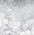 Light silver abstract Christmas background vector image