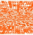 Orange abstract background vector image