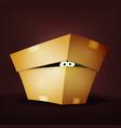 surprise inside birthday cardboard box vector image vector image