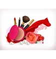 Beauty concept vector image