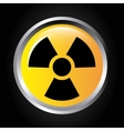 atomic signal button isolated icon design vector image vector image