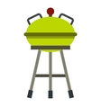Barbecue grill icon flat style vector image vector image