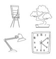 design furniture and work logo set of vector image vector image