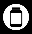 jar icon design vector image