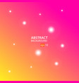 orange pink abstract background vector image vector image