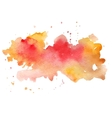 watercolor abstract hand painted background vector image vector image