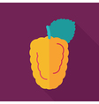 Blackberry bramble flat icon Berry fruit vector image vector image
