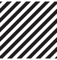 Classic diagonal lines pattern on black vector image