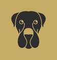 Cute Dog Logo vector image