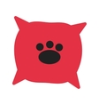 Dog Cushion vector image