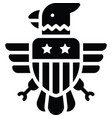 eagle symbol united state independence day vector image vector image