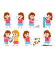 girl bad behavior cartoon bully child cry angry