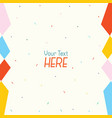 of abstract background vector image