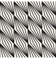 Seamless Black And White Stripe Lines vector image vector image