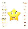star 3d emoji emoji avatar maker vector image