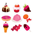 sweet tooth delights vector image