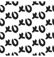 XOXO hugs and kisses bold seamless pattern vector image vector image