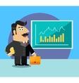 Business life shareholder vector image
