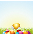 Easter template vector | Price: 1 Credit (USD $1)