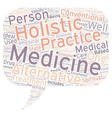 Holistic Medicine As Compared With Other Medical vector image
