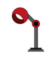 lamp office flat vector image