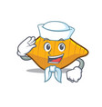 Sailor conchiglie pasta character cartoon