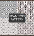 seamless art deco pattern texture decorative vector image vector image