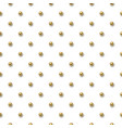 seamless pattern with small golden balls vector image