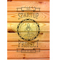 Startup project badges logos and labels for any vector image