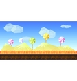 Candy Game Background vector image vector image