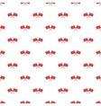 Crossed flags of Turkey pattern cartoon style vector image
