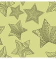 decorative stars background vector image