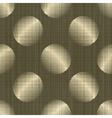 ornate polka dot vector image vector image