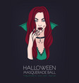 poster flyer or invitation template for halloween vector image