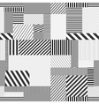 Seamless striped background vector image vector image