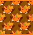 fresh pumpkin thanksgiving decorative seasonal vector image vector image
