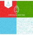 line year patterns vector image vector image