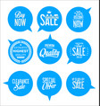 paper sale stickers collection 2 vector image